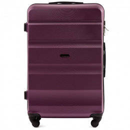 AT01, Large travel suitcase Wings L, Dark purple