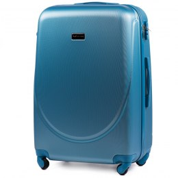 K310, Large travel suitcase Wings L, Silver blue