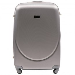 K310, Large travel suitcase Wings L, Silver