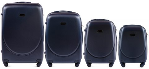 K310, Luggage 4 sets (L,M,S,XS) Wings, Blue