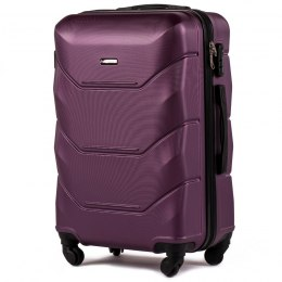 147, Middle size suitcase Wings M, Dark purple