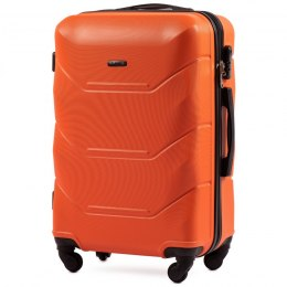 147, Middle size suitcase Wings M, Orange