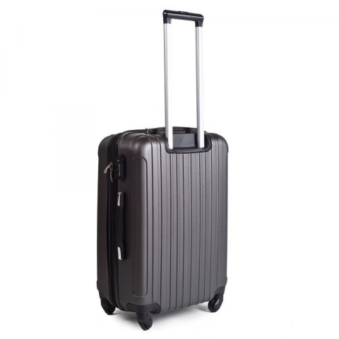 2011, Large travel suitcase Wings L, Dark grey