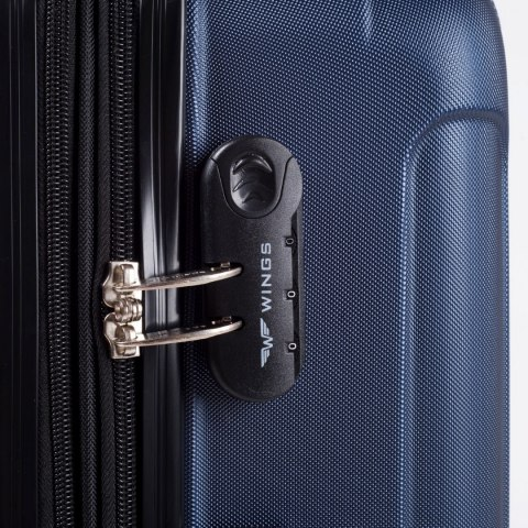2011, Large travel suitcase Wings L, Middle blue