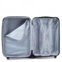 2011, Large travel suitcase Wings L, Silver