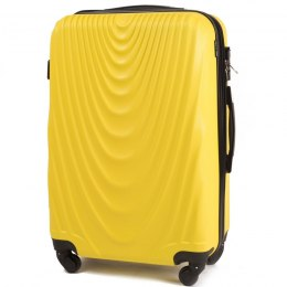 304, Middle size suitcase Wings M, Yellow