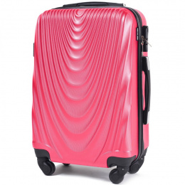 304, Cabin suitcase Wings S, Rose red