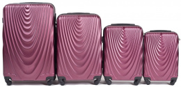 304, Luggage 4 sets (L,M,S,XS) Wings, Burgundy