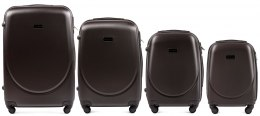 K310, Luggage 4 sets (L,M,S,XS) Wings, Dark grey