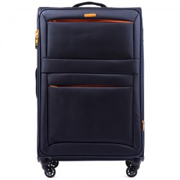 2861, Large super-light suitcase Wings L, Blue