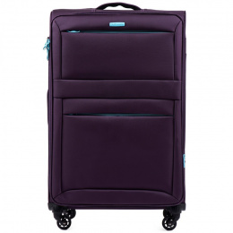 2861, Large super-light suitcase Wings L, Dark purple