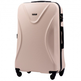 518, Large travel suitcase Wings L, Dirty white