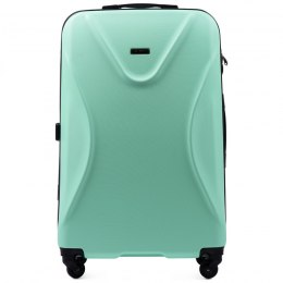518, Large travel suitcase Wings L, Light green