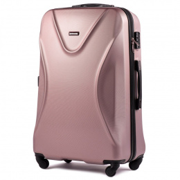 518, Large travel suitcase Wings L, Rose gold