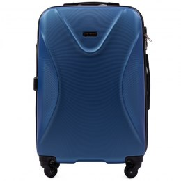 518, Middle size suitcase Wings M, Middle blue