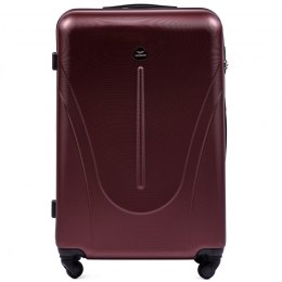 888, Large travel suitcase Wings L, Dark red