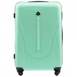 888, Large travel suitcase Wings L, Light green