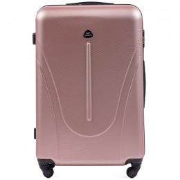 888, Large travel suitcase Wings L, Rose gold