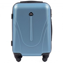 888, Cabin suitcase Wings S, Silver blue