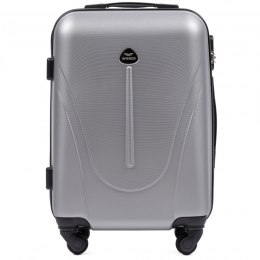 888, Cabin suitcase Wings S, Silver