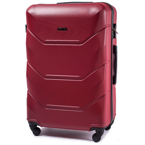 147, Large travel suitcase Wings L, Blood red