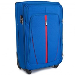 1706(4), Cabin soft travel suitcase 4 wheels Wings S, Light blue