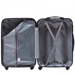 608, Luggage 3 sets (L,M,S) Wings, Middle blue