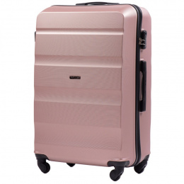 AT01, Large travel suitcase Wings L, Champagne