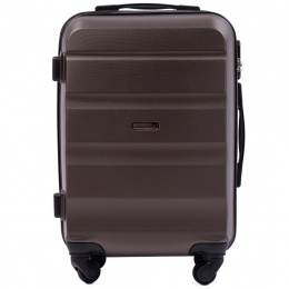 AT01, Cabin suitcase Wings S, Dark purple