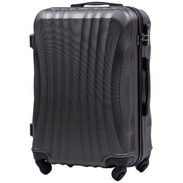 159, Middle size suitcase Wings M, Dark grey