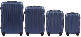 159, Luggage 4 sets (L,M,S,XS) Wings, Blue