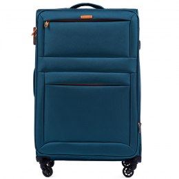 2861, Large super-light suitcase Wings L, TOURQUSE