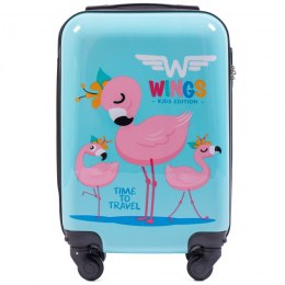 PC-KD01, Small cabin suitcase Wings XS, FLAMING