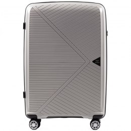 PP06, Large travel suitcase Wings L, Champagne - Polypropylene
