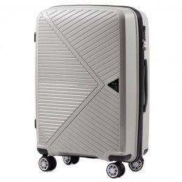 PP06, Middle size suitcase Wings M, Champagne - Polipropyelene
