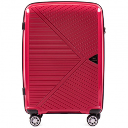 PP06, Cabin suitcase Wings S, Red - Polipropylene