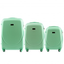 K310, Luggage 4 sets (L,M,S) Wings, Light green