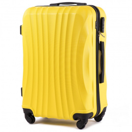 159, Large travel suitcase Wings L, Yellow