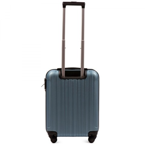 2011, Cabin suitcase Wings S, Silver blue