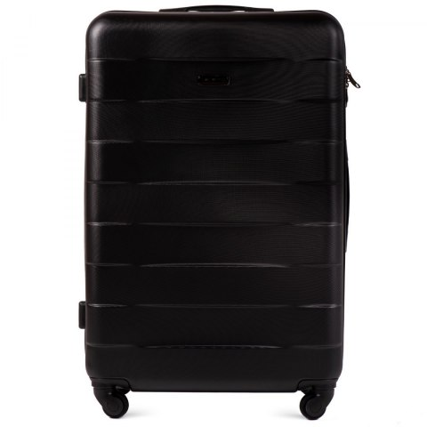 401, Large travel suitcase Wings L, Black