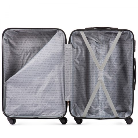 401, Large travel suitcase Wings L, Dark grey