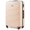 401, Large travel suitcase Wings L, Dirty white
