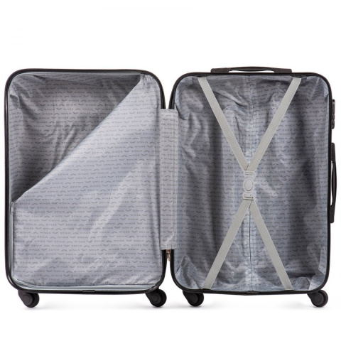 401, Luggage 4 sets (L,M,S,XS) Wings, Black