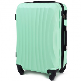 159, Middle size suitcase Wings M, Light green