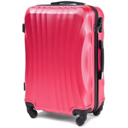 159, Middle size suitcase Wings M, Rose red