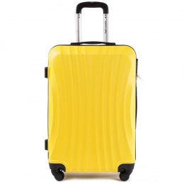 159, Middle size suitcase Wings M, Yellow