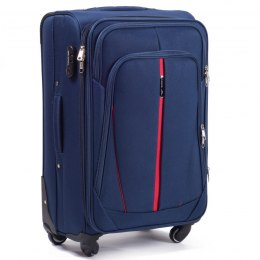 1706(4), Cabin soft travel suitcase 4 wheels Wings S, Blue