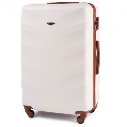 402, Large travel suitcase Wings L, Dirty white