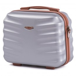 402, Beauty case Wings BC, Silver white