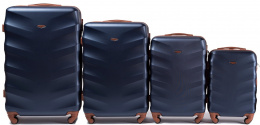 402, Luggage 4 sets (L,M,S,XS) Wings, Blue